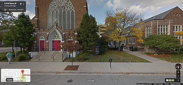 St. Paul's Church, Downtown Lansing, Credit Google