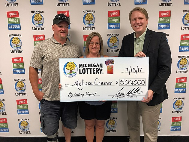 Photo courtesy of the Michigan Lottery