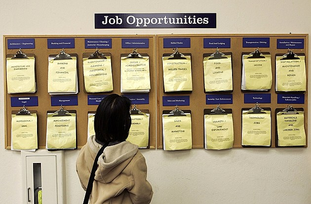 U.S. Jobless Claims Fall To Near Six-Year Low