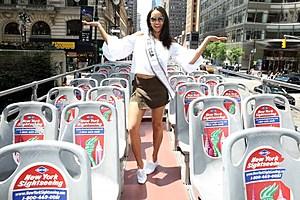 Miss USA 2017 Kara McCullough Bus Tour