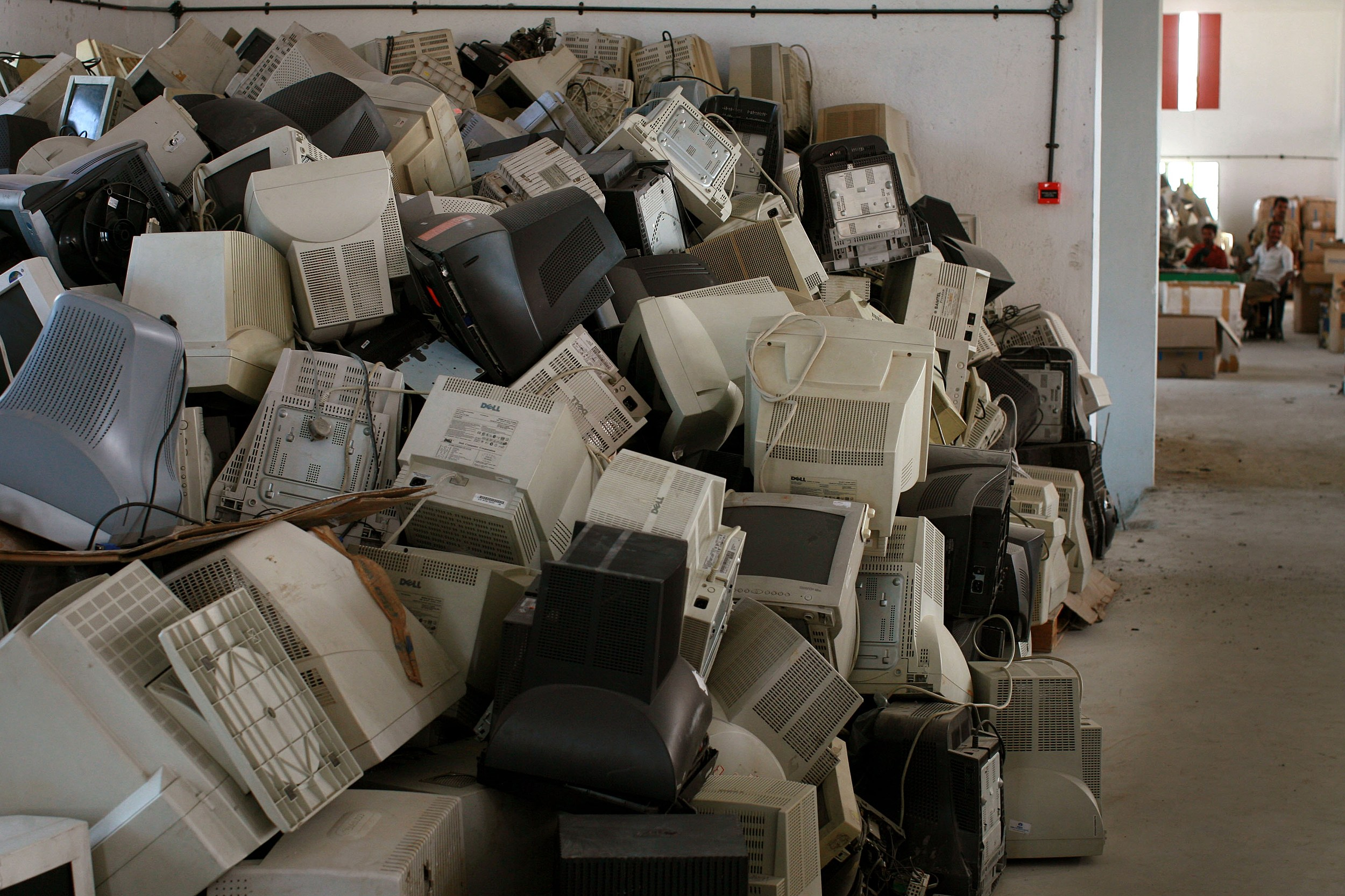 India Has Growing Problem Of Electronic Waste